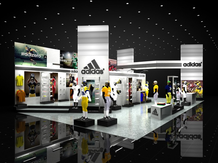 Exhibition Stand Build Up : Adidas exhibit concepts « aa